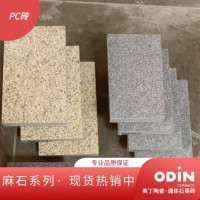 600x600mm 生态透水砖 建材家装 山东奥丁陶瓷 2cm通体石英砖 灰麻 PC砖